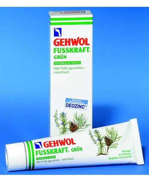 GEHWOL FUSSKRAFT GRÜN – osviežujúci a dezodoračný krém