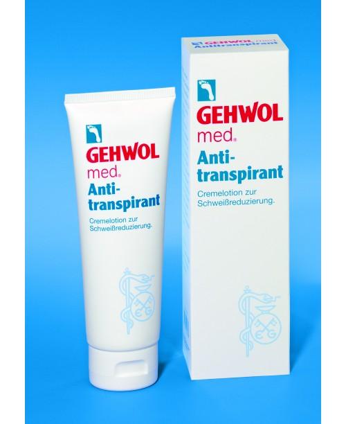 Antitranspirant - Krém na nadmerné potenie nôh