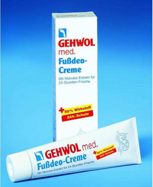 GEHWOL med FUSSDEO-CREME – dezodorujúci krém na nohy
