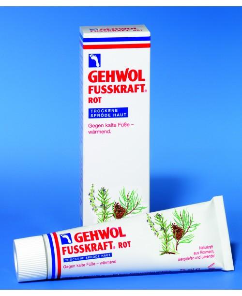 GEHWOL FUSSKRAFT ROT – hrejivý krém na nohy na suchú pokožku